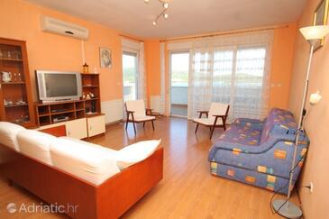 Vis, Living room in the apartment, dostupna klima, dopusteni kucni ljubimci i WIFI.