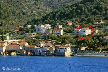 Vis, Vis, Property 8937 - Apartments with pebble beach.