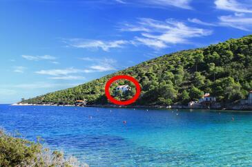 Stončica, Vis, Objekt 8941 - Ubytování v blízkosti moře.