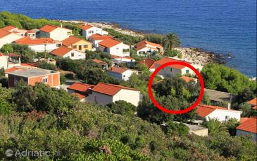 Milna, Vis, Property 8943 - Apartments near sea with rocky beach.