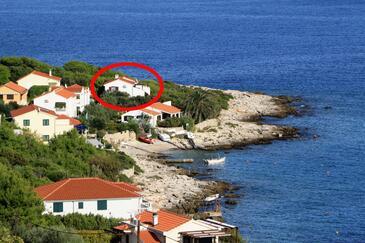 Milna, Vis, Objekt 8946 - Ubytování v blízkosti moře.
