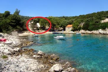 Mala Raskovica, Hvar, Property 8951 - Apartments near sea with pebble beach.