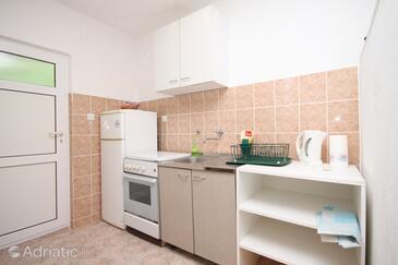 Mala Pogorila, Kuchyně v ubytování typu studio-apartment, WiFi.