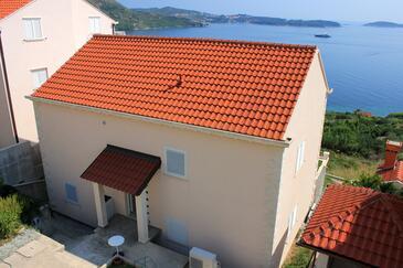 Soline, Dubrovnik, Objekt 8979 - Ubytovanie s kamenistou plážou.