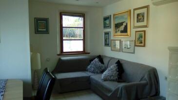 Sali, Гостиная 1 в размещении типа apartment, доступный кондиционер и WiFi.