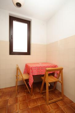 Cavtat, Jídelna v ubytování typu studio-apartment, dopusteni kucni ljubimci i WIFI.