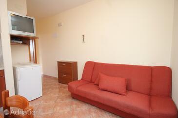 Mlini, Living room in the apartment, dopusteni kucni ljubimci i WIFI.