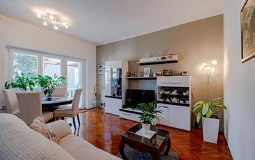 Korčula, Obývacia izba v ubytovacej jednotke apartment, WIFI.