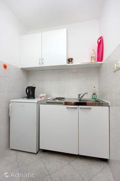 Zaton Veliki, Kitchen in the studio-apartment, dopusteni kucni ljubimci i WIFI.