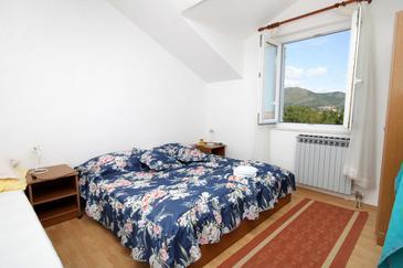 Zaton Veliki, Bedroom in the room, dostupna klima, dopusteni kucni ljubimci i WIFI.