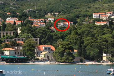 Mlini, Dubrovnik, Property 9043 - Apartments and Rooms with pebble beach.