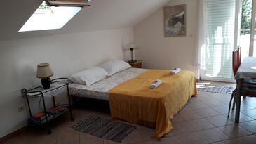 Zaton Veliki, Obývací pokoj v ubytování typu apartment, domácí mazlíčci povoleni a WiFi.