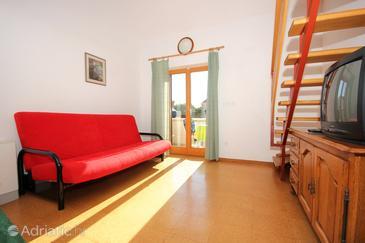 Cavtat, Living room in the apartment, dopusteni kucni ljubimci i WIFI.