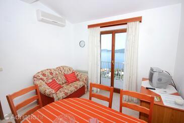 Orašac, Living room in the apartment, dostupna klima i WIFI.