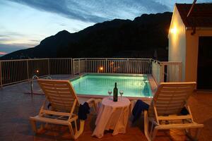Дом для отдыха с бассейном Дубровка - Dubravka (Дубровник - Dubrovnik) - 9101