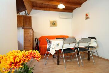 Cavtat, Jídelna 1 v ubytování typu house, s klimatizací a WiFi.