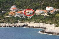 Apartmány u moře s bazénem Zavalatica (Korčula) - 9151