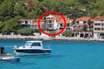 Prižba, Korčula, Obiekt 9153 - Apartamenty przy morzu.