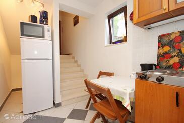 Korčula, Dining room in the apartment, dopusteni kucni ljubimci i WIFI.