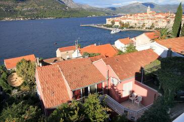Korčula, Korčula, Objekt 9160 - Apartmaji v bližini morja s prodnato plažo.