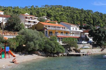 Brna, Korčula, Objekt 9162 - Ubytování v blízkosti moře s písčitou pláží.