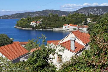 Račišće, Korčula, Property 9163 - Vacation Rentals near sea with pebble beach.