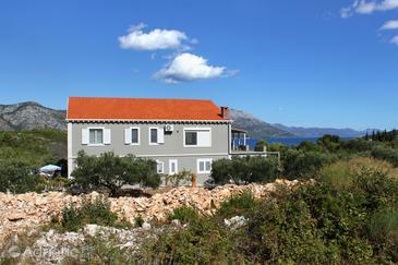 Kneža, Korčula, Property 9167 - Apartments with pebble beach.