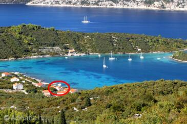 Kneža, Korčula, Property 9168 - Apartments by the sea.