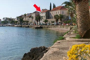 Korčula, Korčula, Property 9174 - Apartments near sea with pebble beach.