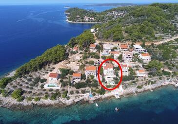 Mikulina Luka, Korčula, Hébergement 9181 - Appartement à proximité de la mer.