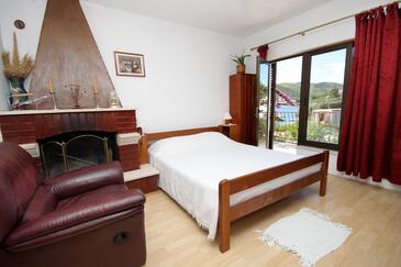 Žrnovska Banja, Dnevna soba v nastanitvi vrste apartment, dostopna klima in WiFi.