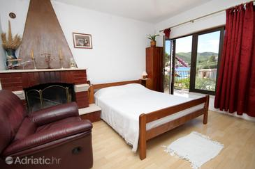 Žrnovska Banja, Living room in the apartment, air condition available and WiFi.