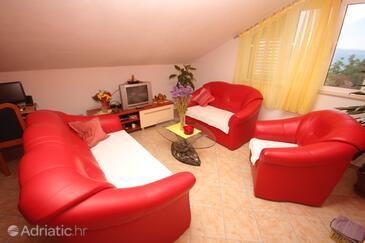 Split, Living room in the apartment, WIFI.