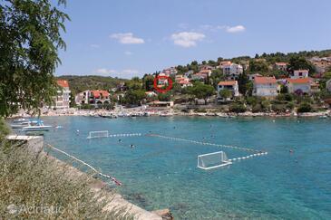 Mavarštica, Čiovo, Property 9206 - Vacation Rentals near sea with pebble beach.