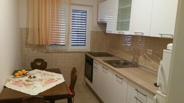 Trogir, Jedáleň v ubytovacej jednotke apartment, WIFI.