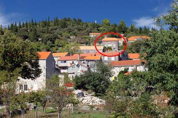 Žrnovo, Korčula, Objekt 9213 - Ubytovanie s kamienkovou plážou.