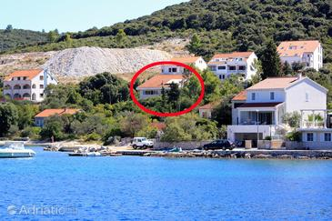 Žrnovska Banja, Korčula, Property 9222 - Apartments near sea with pebble beach.