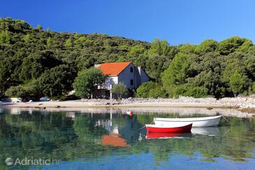 Vrbovica, Korčula, Objekt 9223 - Kuća za odmor blizu mora sa šljunčanom plažom.