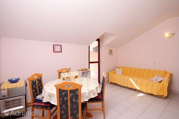 Gršćica, Dining room in the apartment, (pet friendly).