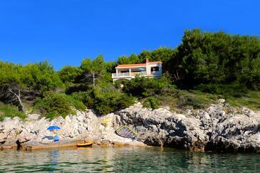 Prižba, Korčula, Objekt 9229 - Ubytování v blízkosti moře s kamenitou pláží.