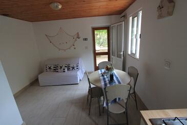 Rasohatica, Jídelna v ubytování typu house, domácí mazlíčci povoleni.