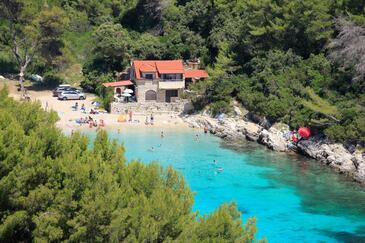 Zavalatica, Korčula, Objekt 9234 - Ubytování v blízkosti moře s oblázkovou pláží.