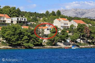 Lumbarda, Korčula, Objekt 9236 - Ubytování v blízkosti moře.