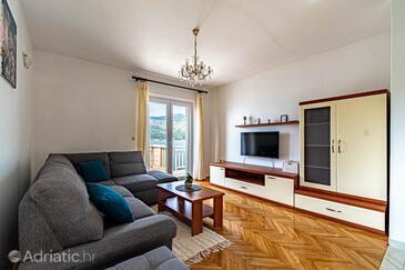 Tri Žala, Obývací pokoj v ubytování typu apartment, WiFi.