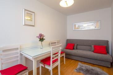 Split, Jídelna v ubytování typu apartment, WiFi.