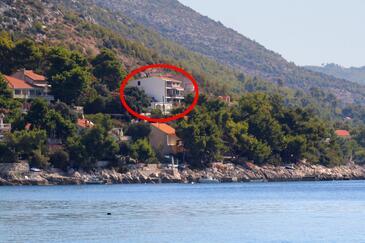 Prižba, Korčula, Objekt 9255 - Ubytovanie blízko mora.