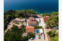 Дом у моря с бассейном Brna - Vinačac (Korčula) - 9266