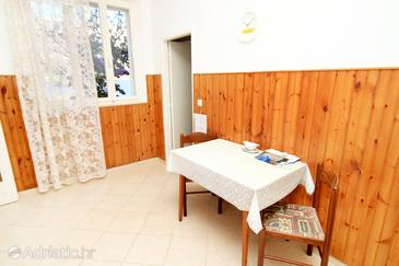 Medvinjak, Dining room in the apartment, (pet friendly).