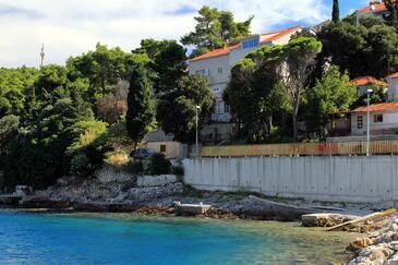 Medvinjak, Korčula, Objekt 9268 - Ubytování v blízkosti moře s oblázkovou pláží.