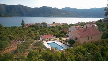 Kneža, Korčula, Objekt 9269 - Ubytování v blízkosti moře s oblázkovou pláží.